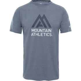 The North Face Wicker Graphic Crew Shirt Men Mid Grey Heather/Asphalt Grey